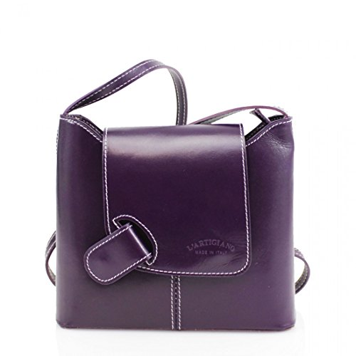 Craze London, Borsa a tracolla donna S Purple