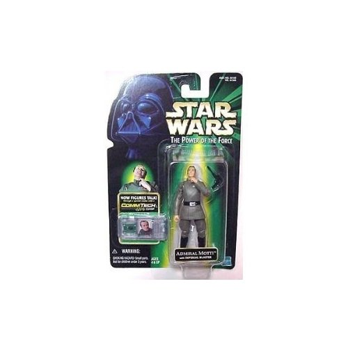 FIGURA STAR WARS THE POWER OF THE FORCE ADMIRAL MOTTI