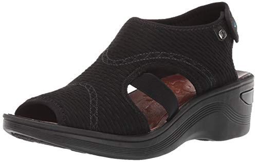 BZees by Naturalizer Women's Dream Sandal, Black, 9 B(M) US
