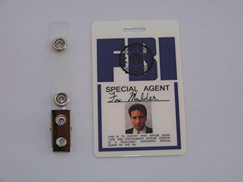 Agent Fox Mulder ID - Karte aus der Serie Akte X , ID Badge , Special Agent , X Files (Bester Film Inspirierte Kostüme)