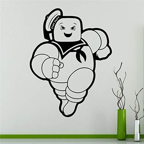 Aufkleber Ghostbusters Wandaufkleber Vinyl Aufkleber Zeichentrickfilme Home Removable Decor 77 x 58 cm