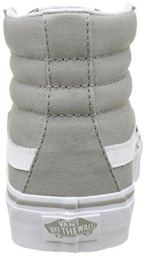 Vans Ua Sk8-Hi Slim, Sneakers Hautes Femme Gris (Drizzle/true White)