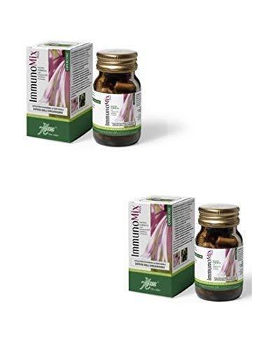 ABOCA - IMMUNOMIX PLUS OPERCOLI - 2 CONFEZIONI - Con Echinacea, Sambuco e Uncaria per le naturali difese dell'organismo.