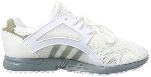 Adidas OriginalsRacer Lite Em - Scarpe da Ginnastica Basse Uomo Bianco (Weiß (Ftwr White/St Bluegrass F13/Ch Solid Grey))
