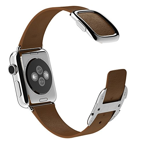 APPLE 38mm Brown Modern Buckle - Small