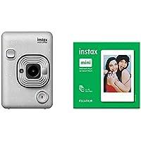 instax Mini LiPlay, Stone White and Mini film 50 Shot Pack