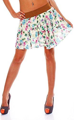 malito-verano-mini-falda-tramo-midi-flores-A-lnea-Mujer-Talla-nica