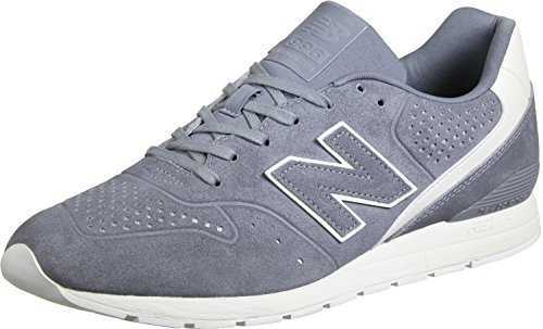 New Balance Herren 996 Leather Sneaker grau / wei