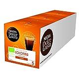 NESCAFÉ Dolce Gusto Colombia Lungo | Hochland Arabica Bohnen | Bio-Kaffee | Feine Crema | Absolut Origin | Aromaversiegelte Kapseln | 3er Pack (36 Kapseln) 252g
