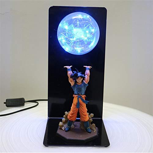 Zoom IMG-1 dragon ball z lampada goku
