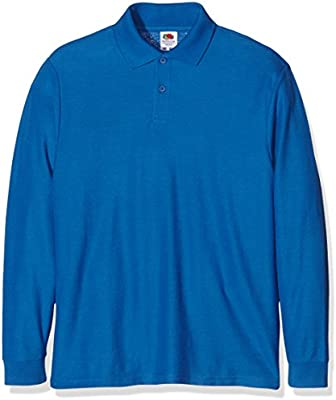 Fruit of the Loom Boys Longsleeve, Polo para Niños