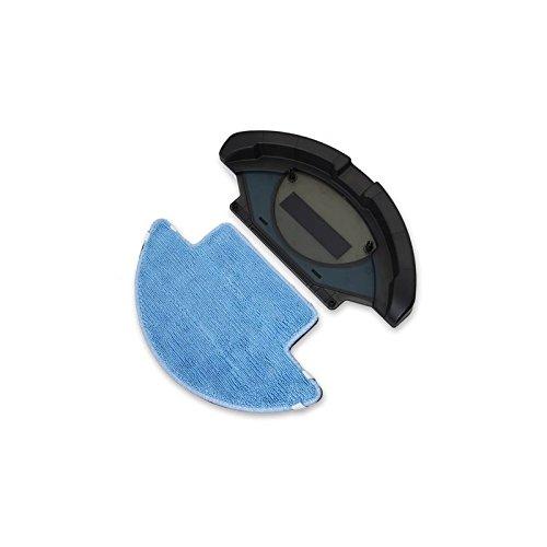 Accesorio friega suelos con mopa de microfibra. Robot aspirador compatible: Conga, Conga Slim y Conga Slim 890. Friega el suelo y pasa la mopa. Accesorio de Cecotec.