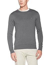TOM TAILOR Basic Crew-Neck Sweater, Pull Homme