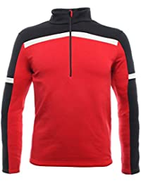Dainese Hp2 Mid Half Zip Man Térmicos de Esquí, Hombre, Rojo-High-