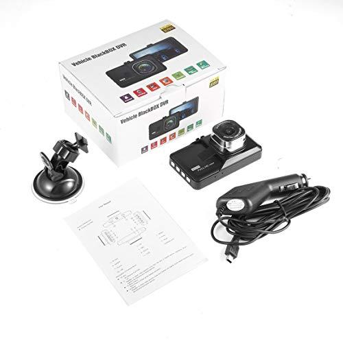 Funnyrunstore SK-Q7 3.0inch 12MP 1080P Voiture DVR caméscope enregistreur de Conduite Vision LED Nuit,Noir