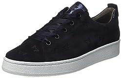 Paul Green Damen 4538011_39 Sneaker, Blau (Blue), EU