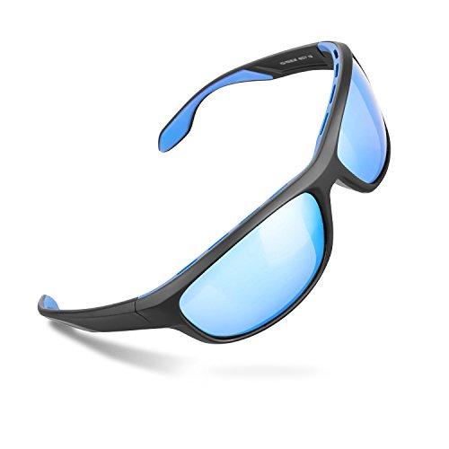 413eb8418cd Zhara Sports Sunglasses Polarized Full Frame Sunglasses