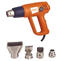 4-Piece Nozzles Heavy Duty Heat Gun Orange/White/Silver 2000
