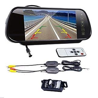 Drahtlose-Rckfahrkamera-Kit-Digital-7LCD-Spiegel-Monitor-Auto-Rckfahrkamera-Nachtsicht-Parkplatz-Monitor-Fr-AutoFahrzeugLKWVanCamper