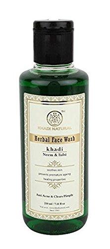 Kräuter Neem & Tulsi Face & Body Wash - 210 ml - von Khadi Organic Natural -