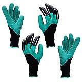 yardsky Wasserdichten Gartenhandschuhe mit Krallen Garten Werkzeug Krallenhandschuhe Handschuhe mit...
