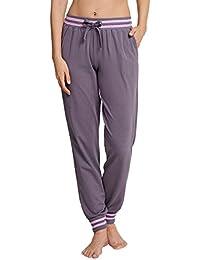 Schiesser Damen Schlafanzughose Mix & Relax Jerseyhose Lang
