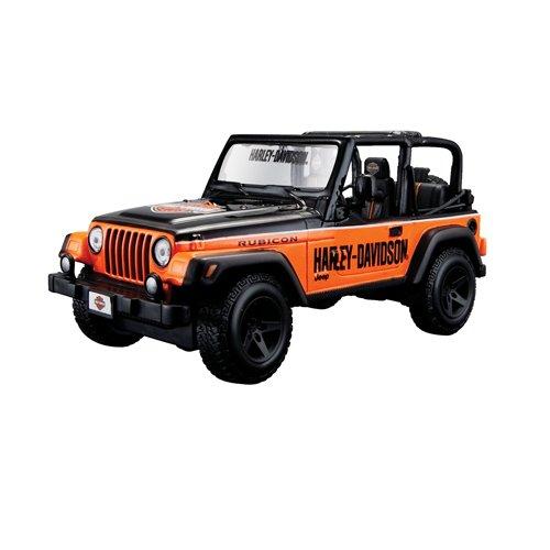 maisto-32190gr-jeep-wrangler-rubicon-harley-davidson-echelle-1-24