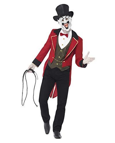 Böse Zirkusdirektor Kostüm - Horror-Shop Gruselige Zirkusdirektor Verkleidung