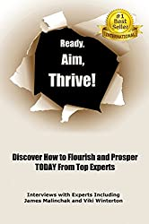 Ready, Aim, Thrive!: Discover How to Flourish and Prosper TODAY from Top Experts (English Edition)