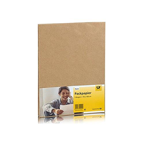 Deutsche Post - Packpapier 5 Bogen - 70 x 100 cm