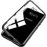 Conie MC35167 Magnetic Case Kompatibel mit Samsung Galaxy S7 Edge, Magnet Hülle Bumper Magnetische Schutzhülle Handy Rückseitenschutz für Galaxy S7 Edge Bumper Schwarz