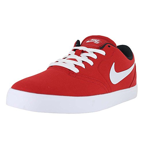 Nike Sb Prã¼fen Cnvs Skate-schuh University Rosso / Bianco Nero