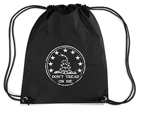 t-shirtshock-mochila-budget-gymsac-tm0665-dont-tread-on-me-talla-capacidad-11-litros