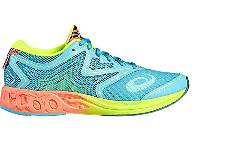 asics-womens-noosa-ff-competition-running-shoes-multicolor-aquarium-flash-coral-safety-yellow-55-uk