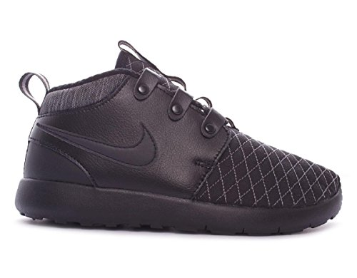 Nike Jungen Roshe One Mid Winter Ps Laufschuhe Schwarz / Grau (Schwarz / Schwarz-Dunkelgrau)