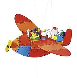 Goki -  GK128 - Mobile en forme d'avion - Animal Airlines