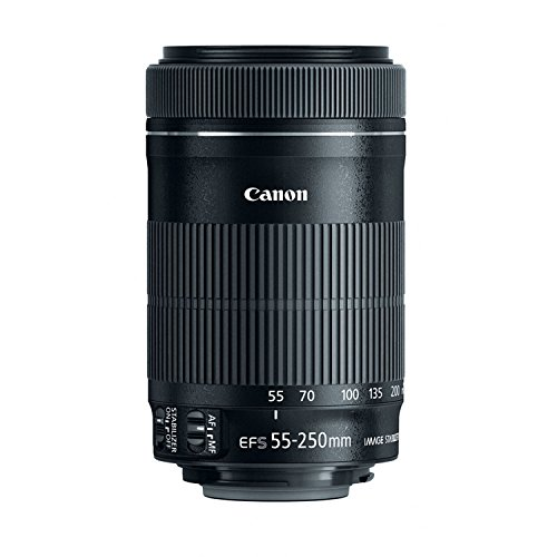 Best Canon 55-250 mm / F 4.0-5.6 EF-S IS STM 55 mm Lens