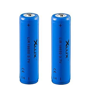 18650 Akkus für LED-Taschenlampe Scheinwerfer, nicht für Vape (E-Zig) von BATOU bei Outdoor Shop