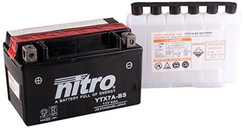 NITRO YTX7A BS N - - batterie nero - (prezzo con deposito 7,50 EUR)