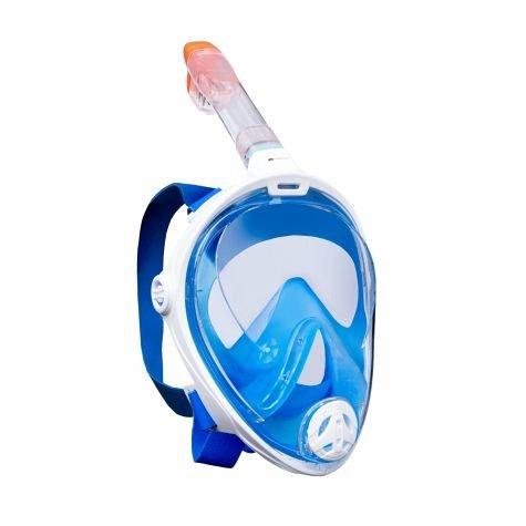 Aqua Sphere Full Face Taucherbrille blau S/M