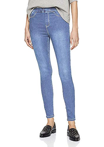 QZS Clothing Skinny Denim Jegging, Legging, Tights by (52 Plus Size, Lite Blue) (Plus-size-skinny Jeans Für Frauen)