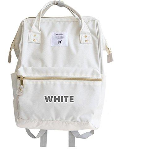 YTTY Sac À Dos Étanche,Blanc