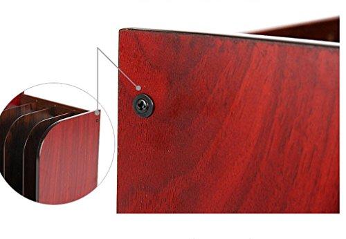 Woody Book Stand Artículos de oficina File Rack Files Rack