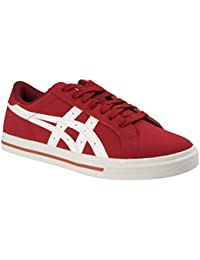 b9834bbfa Amazon.es  asics rojas - Piel   Zapatos  Zapatos y complementos
