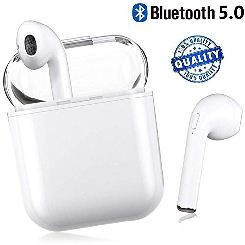 Bluetooth Kopfhörer Sport Earphones Stereo Bluetooth V5.0 In Ear True Wireless Earbuds kabellose kopfhörer Ohrhörer Noise Cancelling Headset mit Mikrofon für iPhone Android Samsung Huawei HTC Video Noise Cancelling Earbuds