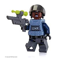 Lego Jurassic World ACU Minifigure 75919 Dark Reddish Brown Head Exclusive