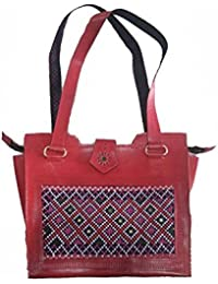 Asian Roots Women's Handbag, Material- Synthetic Leather, Colour- Multicolor Pack Of 2 (AR-002)