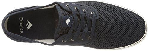 Emerica Wino Cruiser, Chaussures de skateboard homme Bleu (Blue/White 442)