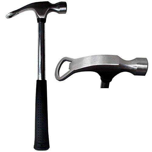 Spassprofi Feierabendhammer mit Flaschenöffner Hammer Feierabendhammer Handhammer Öffner