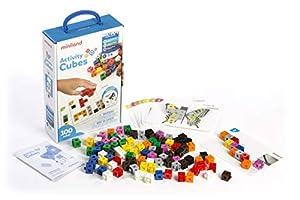 Miniland- Activity Cubos para Juego matemático (95203)
